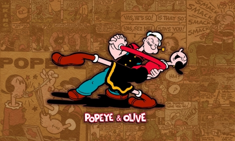 popeye and olive