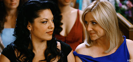 Callie and Arizona (Calzona) in Grey's Anatomy