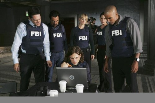 Criminal Minds Team in kevlar